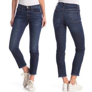 ⚡️ FRAME Denim Le Boy Fray Hem Jeans